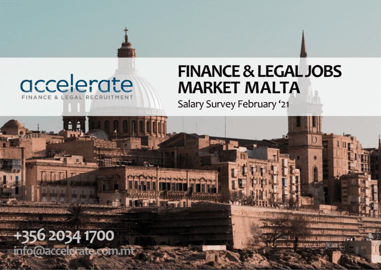 Accelerate Finance & Legal Recruitment Salary Survey